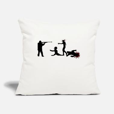 "Zombie Killer Zombie Killer - Throw Pillow Cover 18"" x 18"""