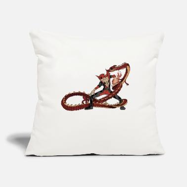 "Comics comics - Throw Pillow Cover 18"" x 18"""