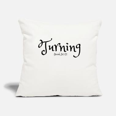 Turn On Turning - Throw Pillow Cover