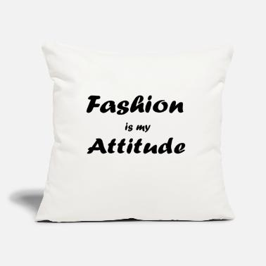 "Fashion fashion - Throw Pillow Cover 18"" x 18"""