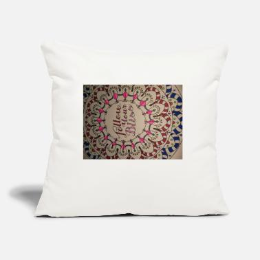 "Bliss Bliss - Throw Pillow Cover 18"" x 18"""