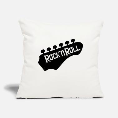"Rock 'n' Roll Rockn Roll - Throw Pillow Cover 18"" x 18"""