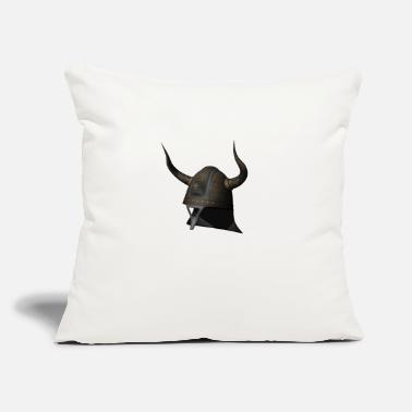 "Helmet helmet - Throw Pillow Cover 18"" x 18"""