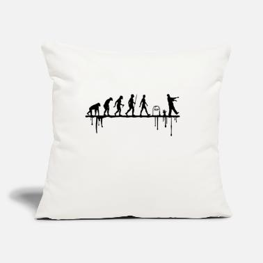 "Back to life - Throw Pillow Cover 18"" x 18"""