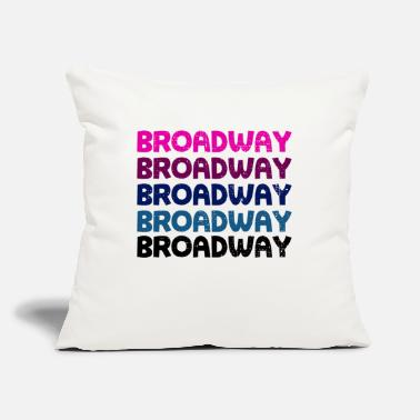 "Broadway Broadway Vintage - Throw Pillow Cover 18"" x 18"""