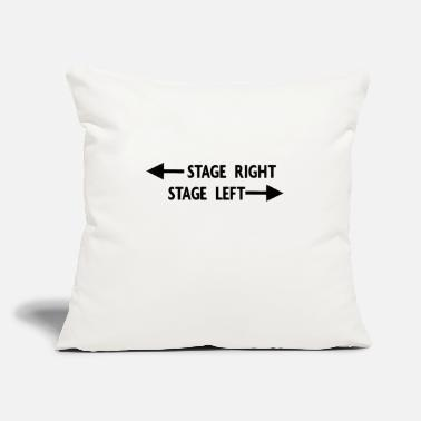 "Stage theatre stage - Throw Pillow Cover 18"" x 18"""