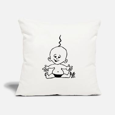 "Baby - Throw Pillow Cover 18"" x 18"""