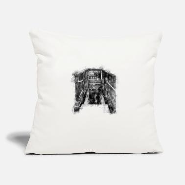 "Ny New York - Throw Pillow Cover 18"" x 18"""