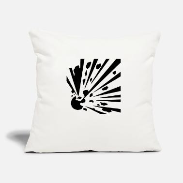 "Explosion Explosive! - Throw Pillow Cover 18"" x 18"""