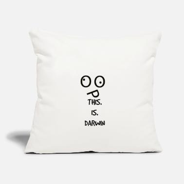 "Darwin This Is Darwin - Throw Pillow Cover 18"" x 18"""