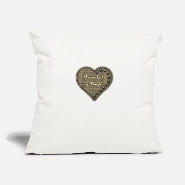 "I Love &amp I Love Amp - Throw Pillow Cover 18"" x 18"""