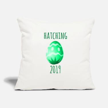 "Hatched HATCHING 2019 - Throw Pillow Cover 18"" x 18"""