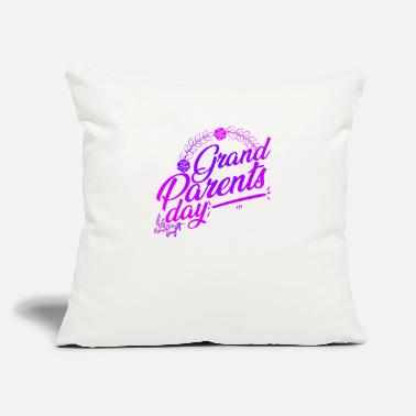 "Grand Parents Grand Parents Day - Throw Pillow Cover 18"" x 18"""