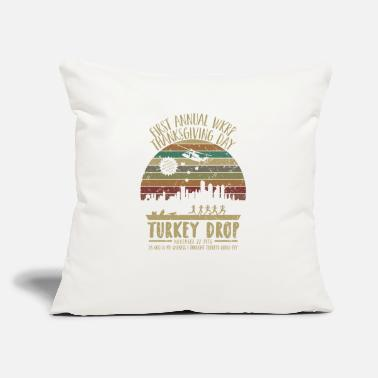 "Annual First Annual WKRP Thanksgiving - Throw Pillow Cover 18"" x 18"""
