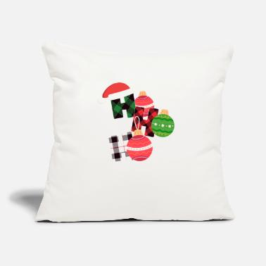 "Ho Christmas Christmas Ho Ho Ho - Throw Pillow Cover 18"" x 18"""