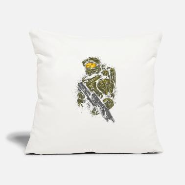 "Master Master Chief - Throw Pillow Cover 18"" x 18"""