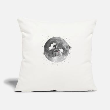 "Mare The Mare in the Moon - Throw Pillow Cover 18"" x 18"""