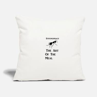 "Art of the Meal - Throw Pillow Cover 18"" x 18"""
