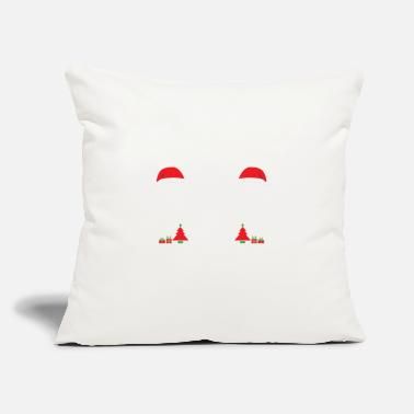 "Credit Card Funny Dear Santa Just Leave your credit card - Throw Pillow Cover 18"" x 18"""