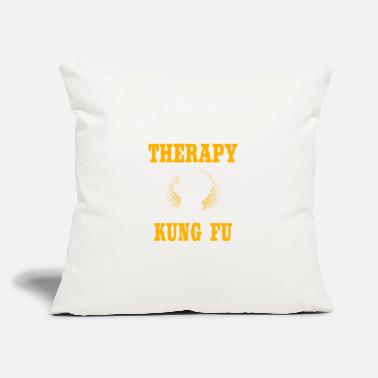 "Fu Kung Fu - Throw Pillow Cover 18"" x 18"""