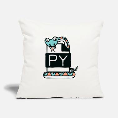 "Programming PYTHON programming - Throw Pillow Cover 18"" x 18"""
