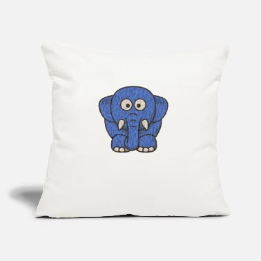 "elephant - Throw Pillow Cover 18"" x 18"""