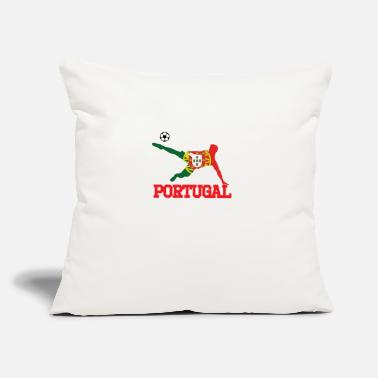 "Portugal portugal soccer, #portugal - Throw Pillow Cover 18"" x 18"""