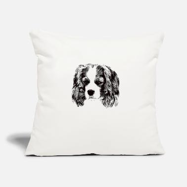"Charles Cavalier King Charles Spaniel - Throw Pillow Cover 18"" x 18"""