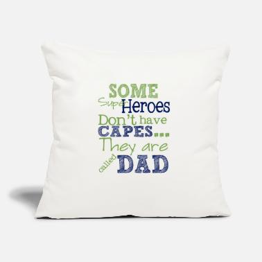 hero dad on fathers - Throw Pillow Cover