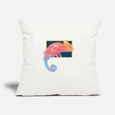 Frame Chameleon Frame - Throw Pillow Cover