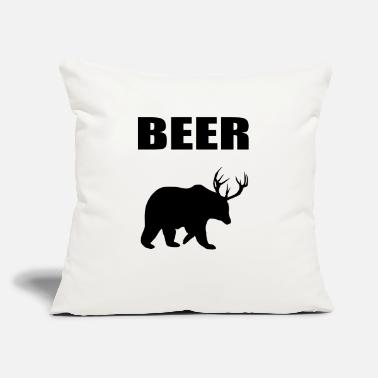 "Beer beer - Throw Pillow Cover 18"" x 18"""
