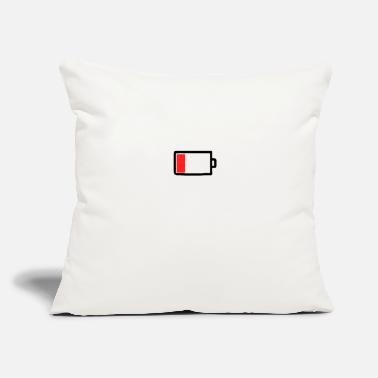 Mobile Phone Mobile phone battery empty - Throw Pillow Cover