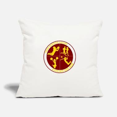 "Count Royal Count on Me Gold - Throw Pillow Cover 18"" x 18"""