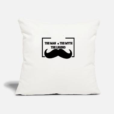 "Papa The Man The Myth The Legend Papa The man the myth the legend - Throw Pillow Cover 18"" x 18"""