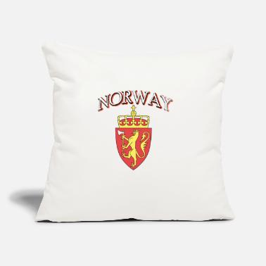 "Norway Coat Of Arms Norway coat of arm tees - Throw Pillow Cover 18"" x 18"""