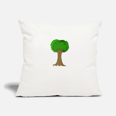"Enviromental Beautiful Nature Tree Tshirt Design Hugger Tree lover Nature Lover - Throw Pillow Cover 18"" x 18"""
