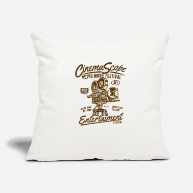 Cinema Cinema Scope - Throw Pillow Cover