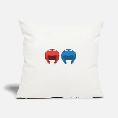 "Sparring The Fighter's Sparring Tshirt Design Sparring - Throw Pillow Cover 18"" x 18"""