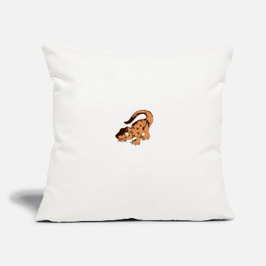 "Leopard Leopard Gecko Whisperer Shirt - Throw Pillow Cover 18"" x 18"""