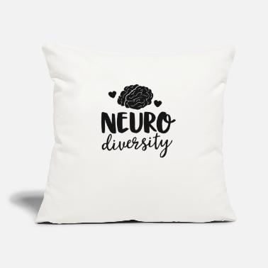 "Neurodiversity Special Education Teacher Shirt - Throw Pillow Cover 18"" x 18"""