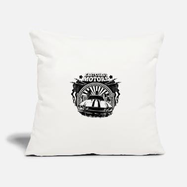 "East Coast Motors - Throw Pillow Cover 18"" x 18"""