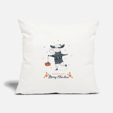 "Christmas Christmas - Throw Pillow Cover 18"" x 18"""