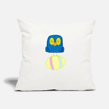 "Hatched Hatching Easter Eggs, Hatching Plan, Funny Easter - Throw Pillow Cover 18"" x 18"""