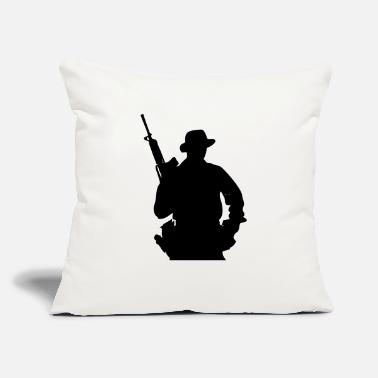 "Grenadier Army Ranger, Soldier, Mercenary - Throw Pillow Cover 18"" x 18"""