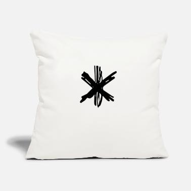 "Asterisk asterisk - Throw Pillow Cover 18"" x 18"""