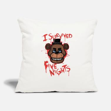 "Five Five Nights at Freddy bear - Throw Pillow Cover 18"" x 18"""