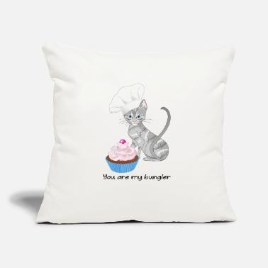 "Pastries pastry chef - Throw Pillow Cover 18"" x 18"""