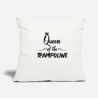 "Jumpstyle Queen of the trampoline - Jump Jumping Jumpstyle - Throw Pillow Cover 18"" x 18"""