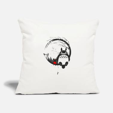 "Animal anime - Throw Pillow Cover 18"" x 18"""
