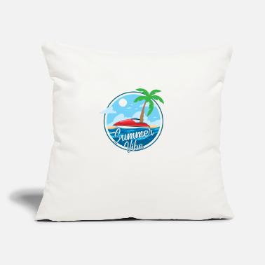 "Holiday Island summer vibe island holiday Gross - Throw Pillow Cover 18"" x 18"""